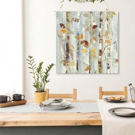 Cuadro Bosque - Autumn Petals - 100x100 cm
