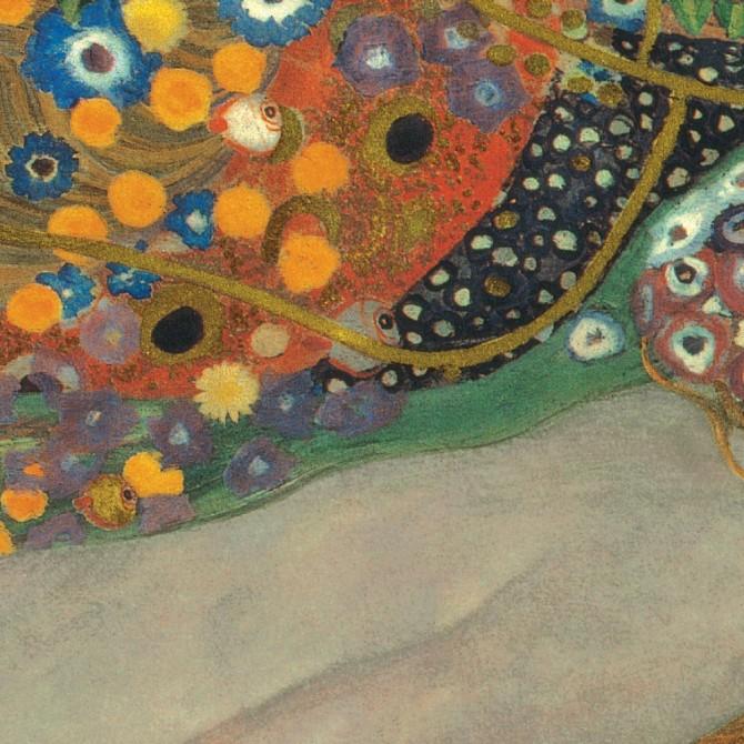 Gustav Klimt - Sea Serpents III