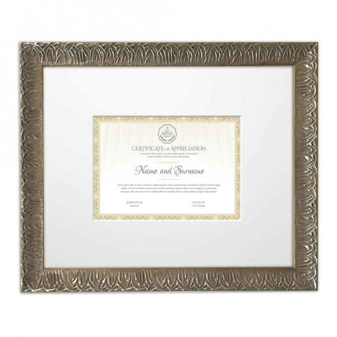 Marco Plata  Diploma DIN A4