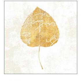 Cuadro Hoja-Bronzed Leaf II