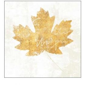 Cuadro Hoja-Bronzed Leaf IV