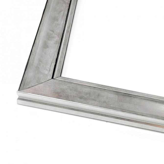 Silver Classic Square Frame