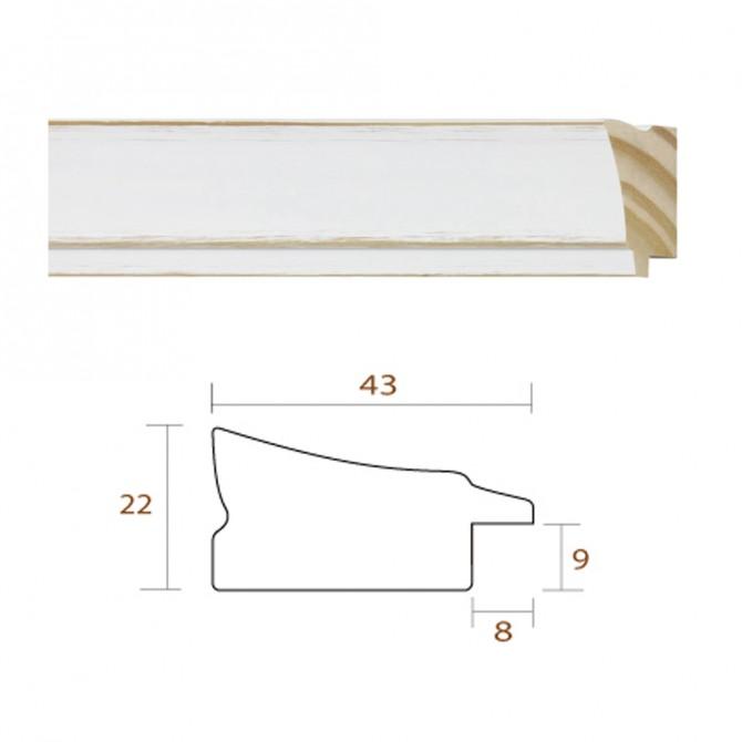 Marco Dorado Clásico Liso Para DIN A4