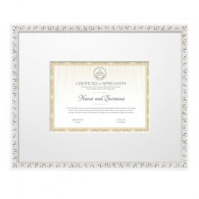 Classic White Frame for DIN A4