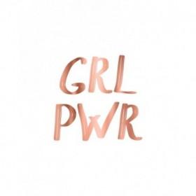 GRL PWR Rose Gold