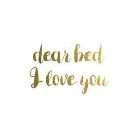 Dear Bed 1