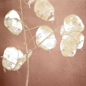 Rose Gold Leaves 1