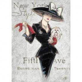 New York Style Lady