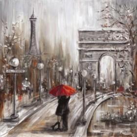 Rainy Embrace by the Art