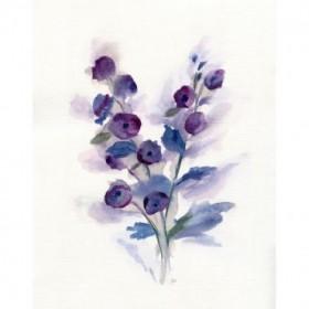 Pretty in Purple I
