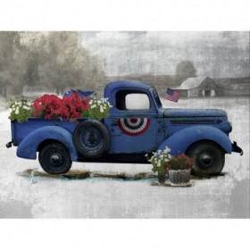 American Truck Blue