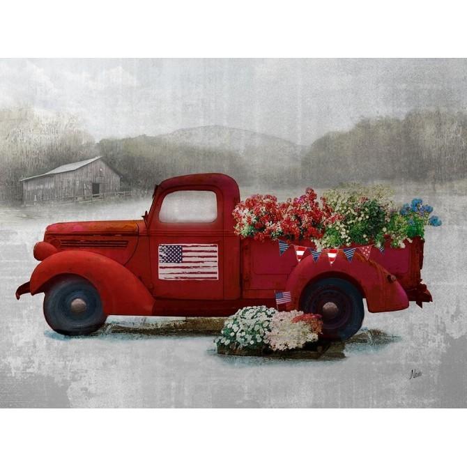 Americana Red Truck