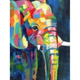 Vibrant Elephant