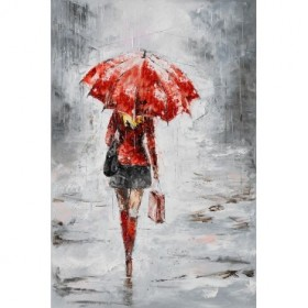 City in the Rain I