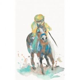 A Jockey and His Horse