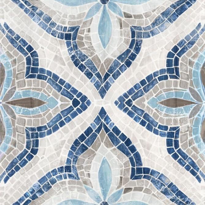 Blue Morrocan Tile