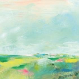 Colorful Horizon Square II