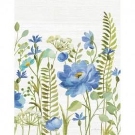 Botanical Blue VIII