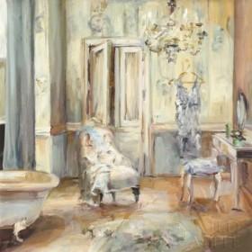 Boudoir Bath II Gray