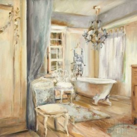 Boudoir Bath I Gray