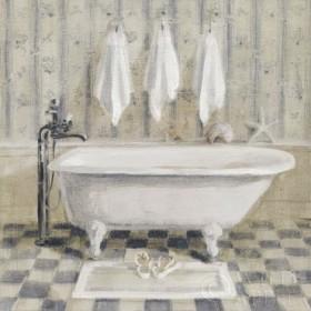 Victorian Bath IV White Tub