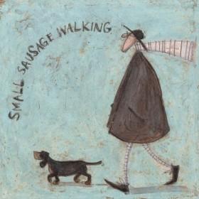Small Sausage Walking