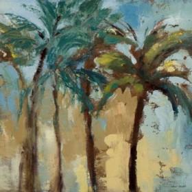 Island Morning Palms Square II