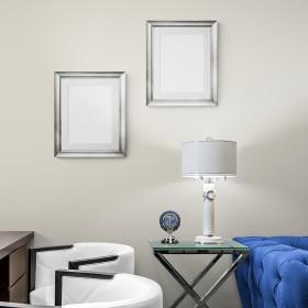 copy of 2 units.Grey square frame.