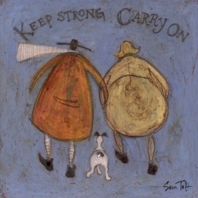 Keep Strong Carry On