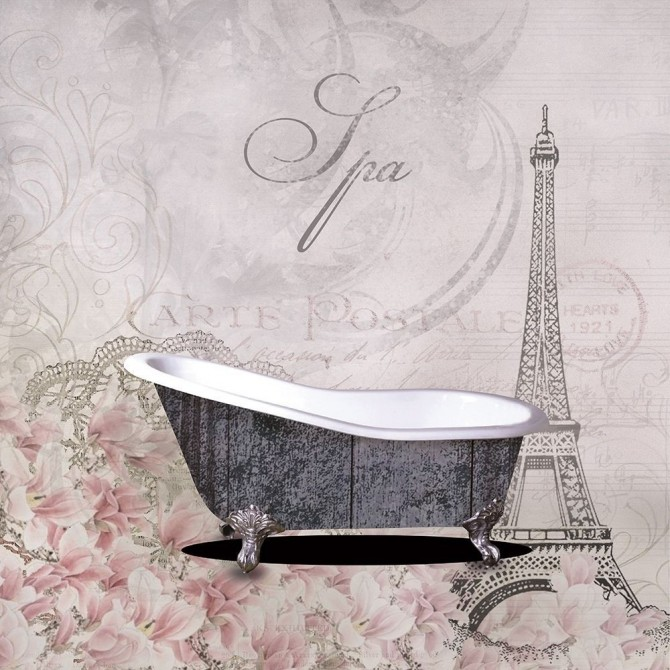 Floral Bath 1