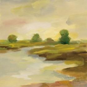 Chartreuse Fields I