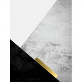 Black Grey Gold Mountains 3