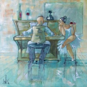 The Ballerina and Waiter