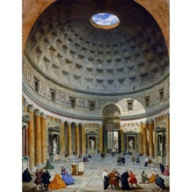 Interior of the Pantheon, Rome, c. 1734