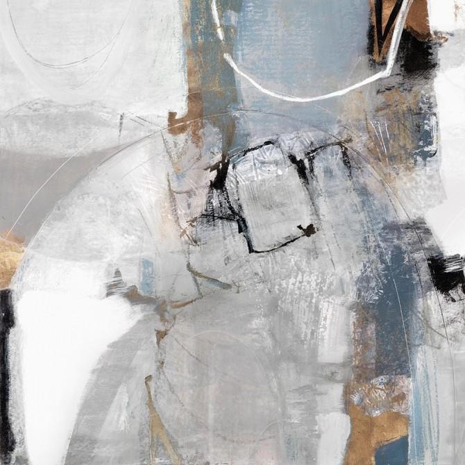 Juego de 2 cuadros abstractos - Clear Call