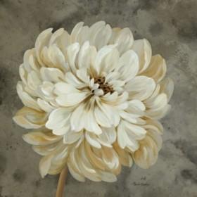 Pearl Grey Floral Study I