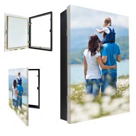 Tapacontador vertical con tu foto - Escoge color y  medidas.