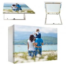 Tapacontador horizontal con tu foto - Escoge color y medidas