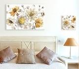 Bedside table wall art
