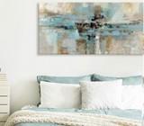 Bed head wall art. Single piece