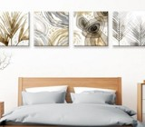 Bed head wall art. More than 3 pieces