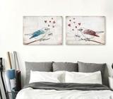 Romantic wall art for bedroom