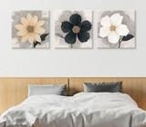 Bed head wall art. Three pieces