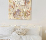 Pastel tones wall art for bedroom