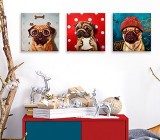 Animals canvas prints