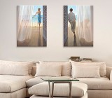 People canvas prints
