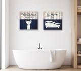 Cuadros Baño