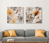 Modern Flower canvas prints