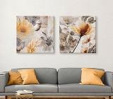 Modern Flower canvas prints