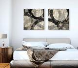 Abstract Geometric canvas prints